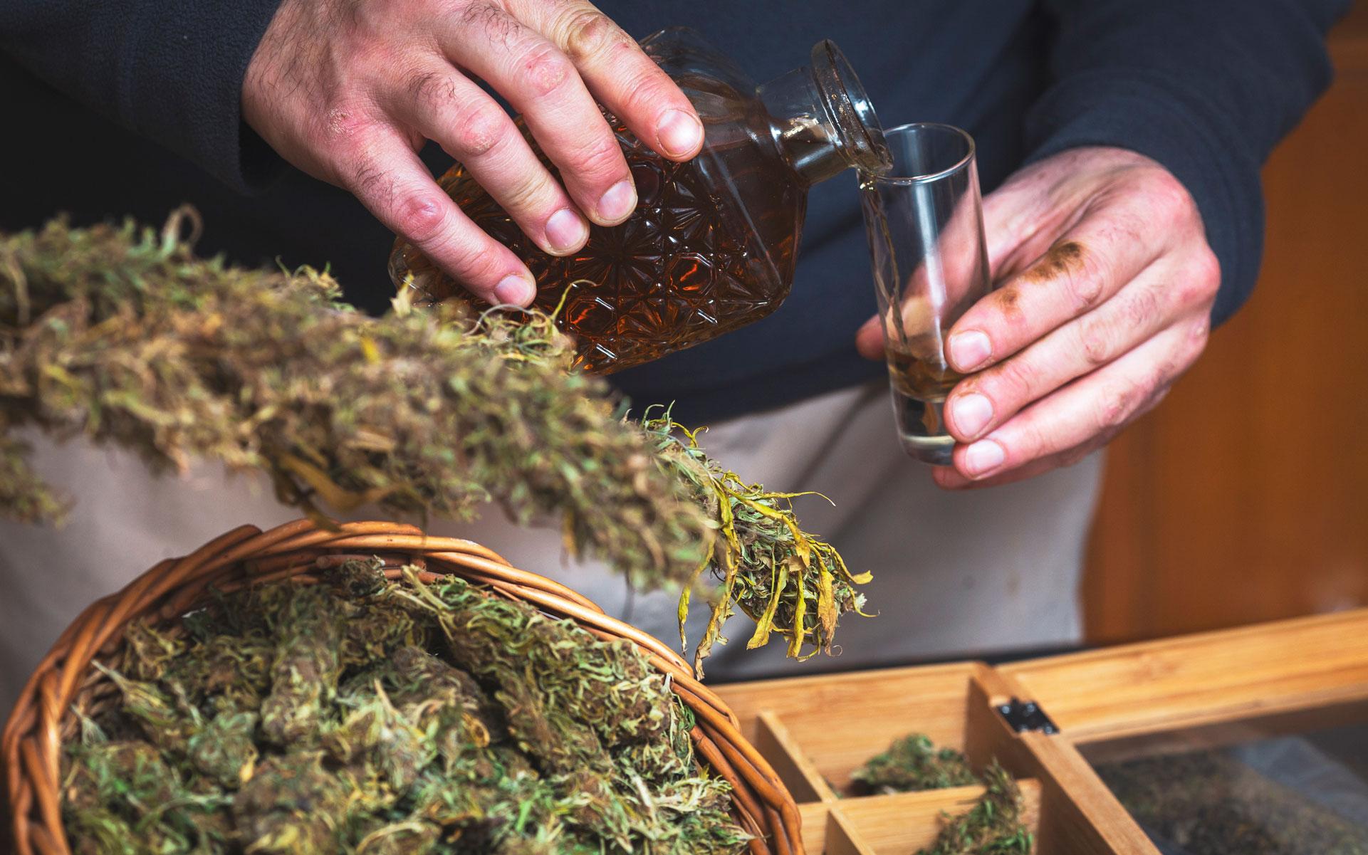 cannabis beverage liquor