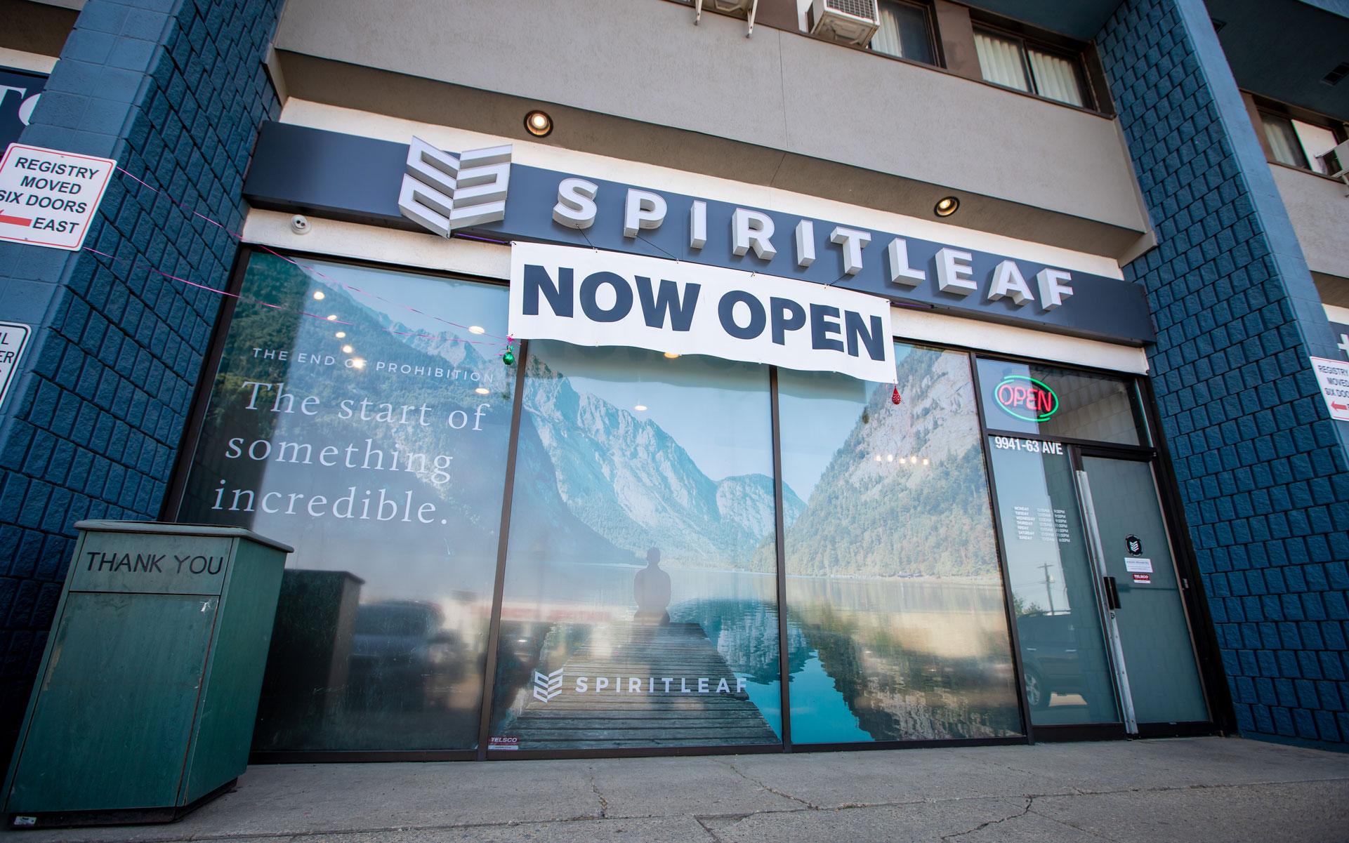 Spiritleaf Edmonton