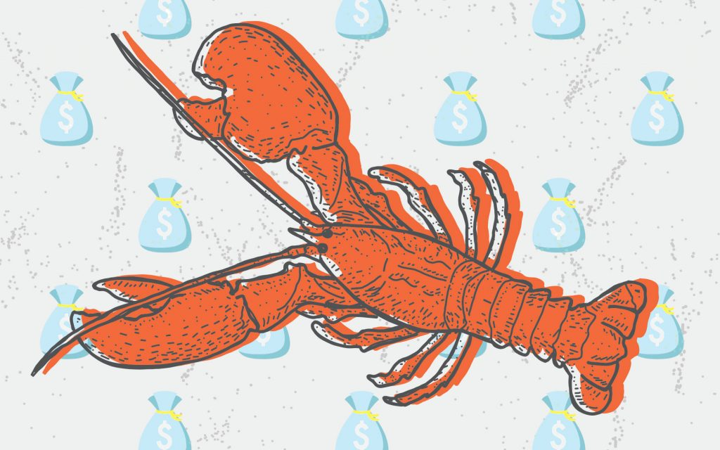 Cannabis and Maine lobster would make a tasty treat.