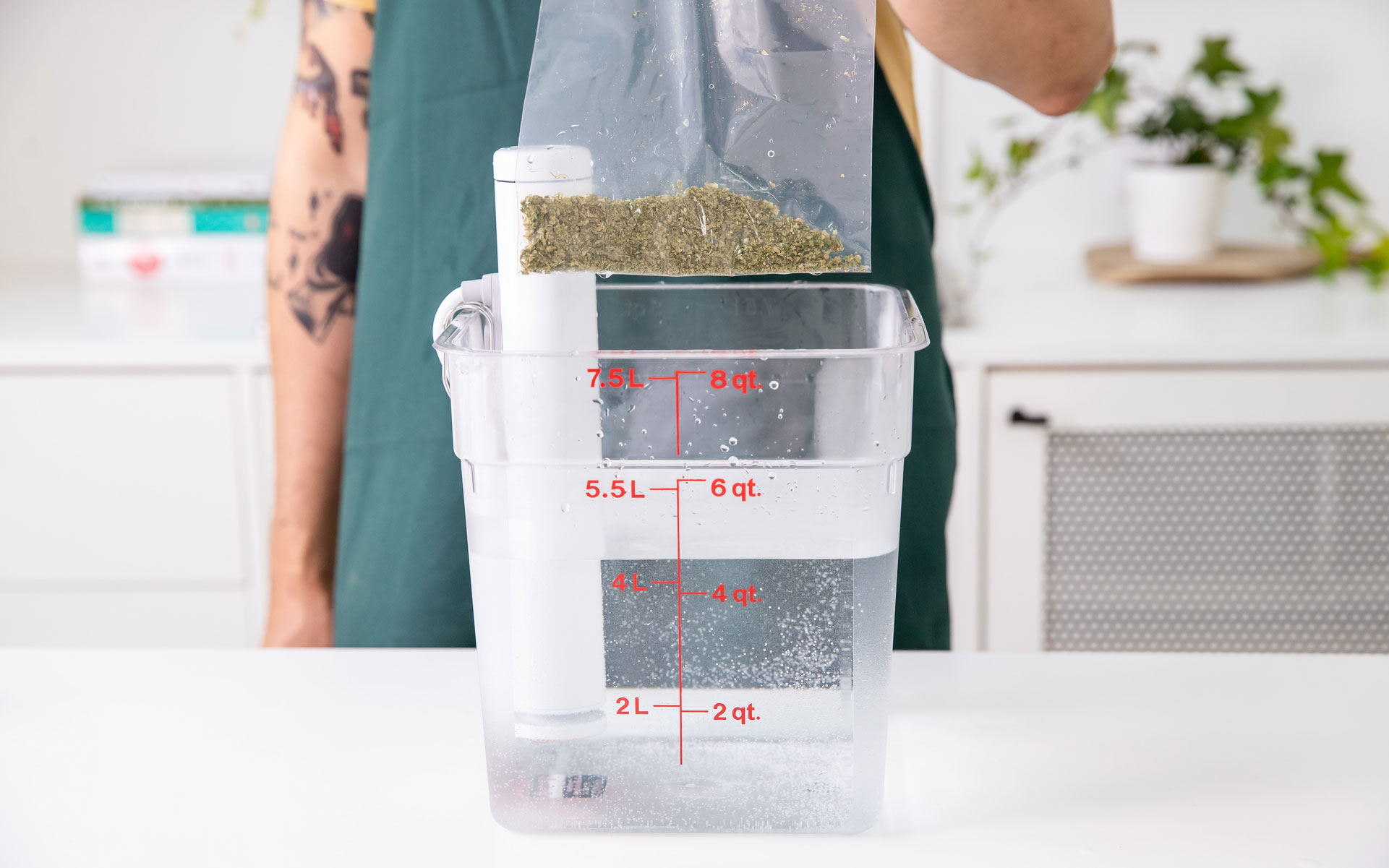 Decarboxylation decarb sous vide