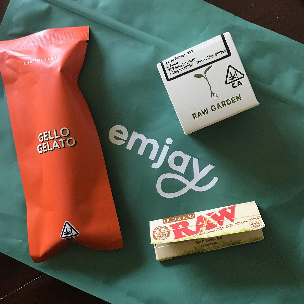 Marijuana delivery