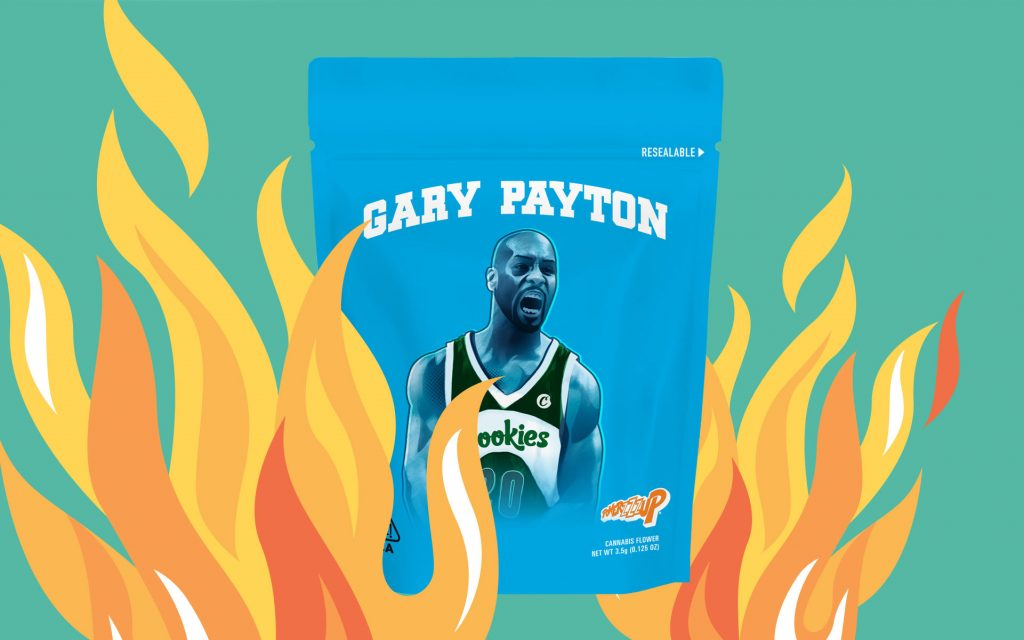 size 40 39e8d 4af67 NBA All-Star Gary Payton's New Cookies Strain Heating Up ...