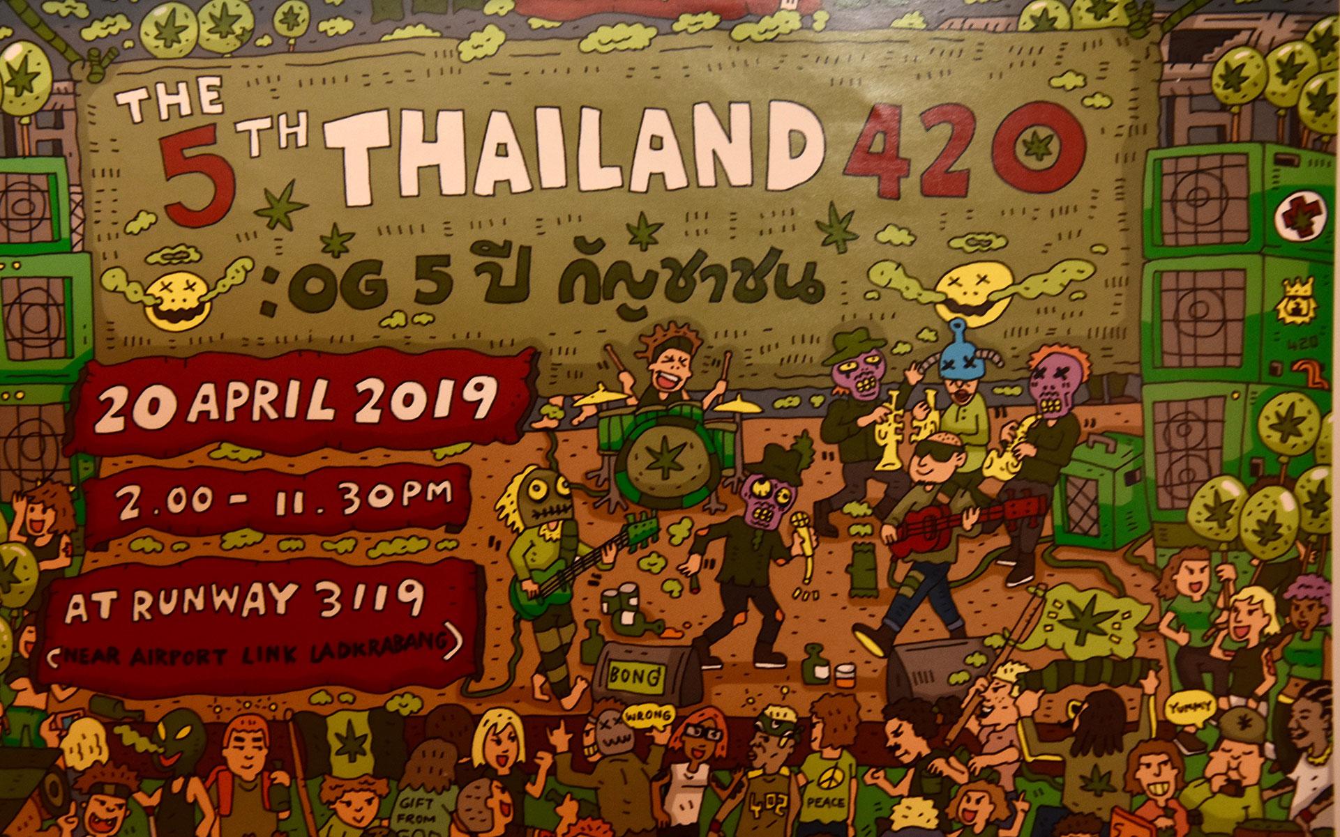 Thailand 4/20 festival
