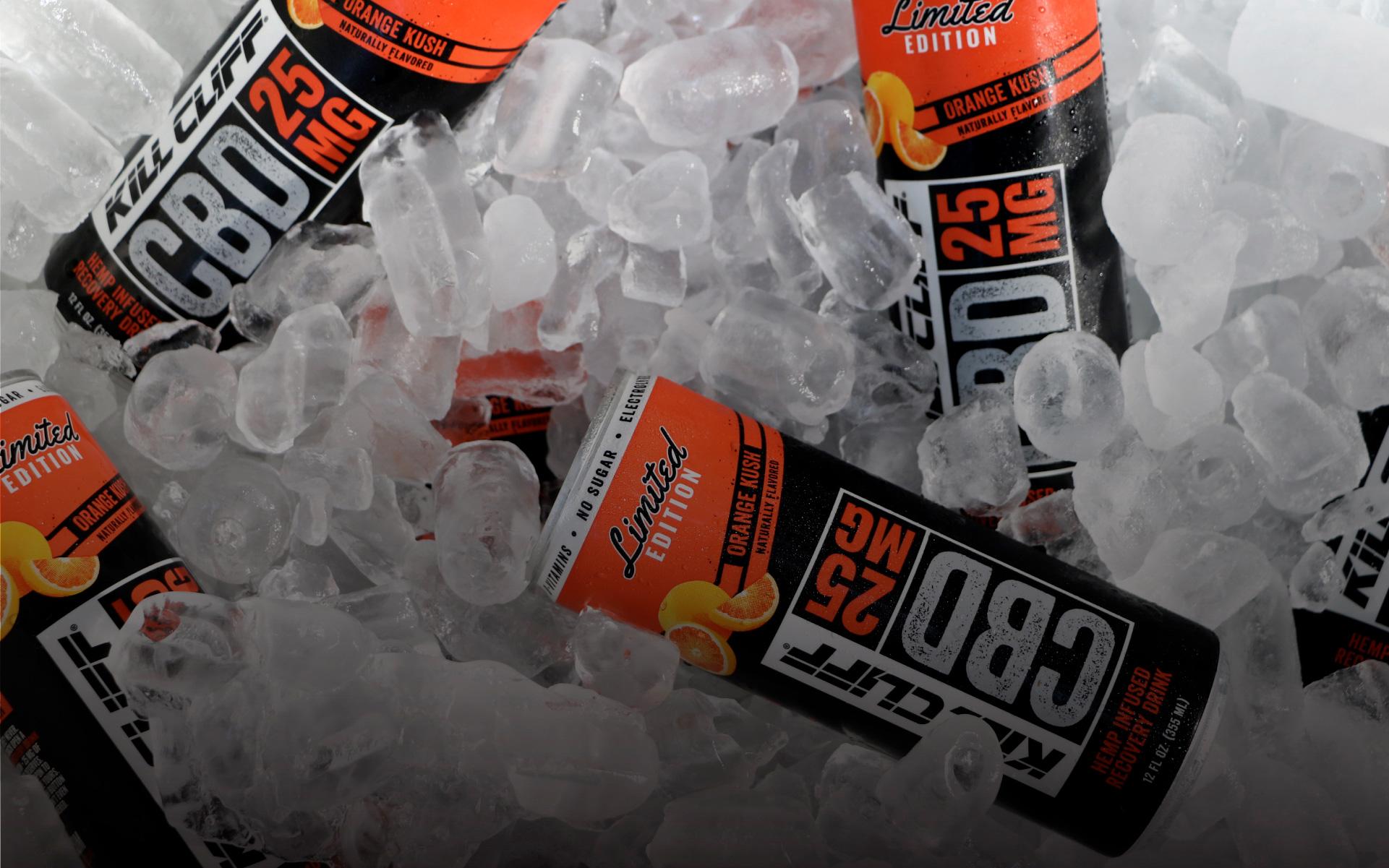 cbd beverages, hemp infused recovery drink, full spectrum cbd infused beverage