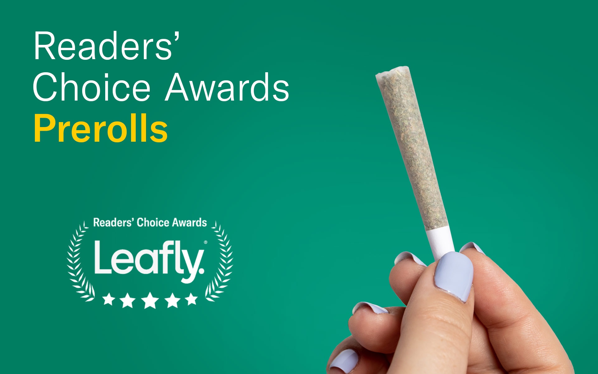 Leafly canada readers choice favourite preroll