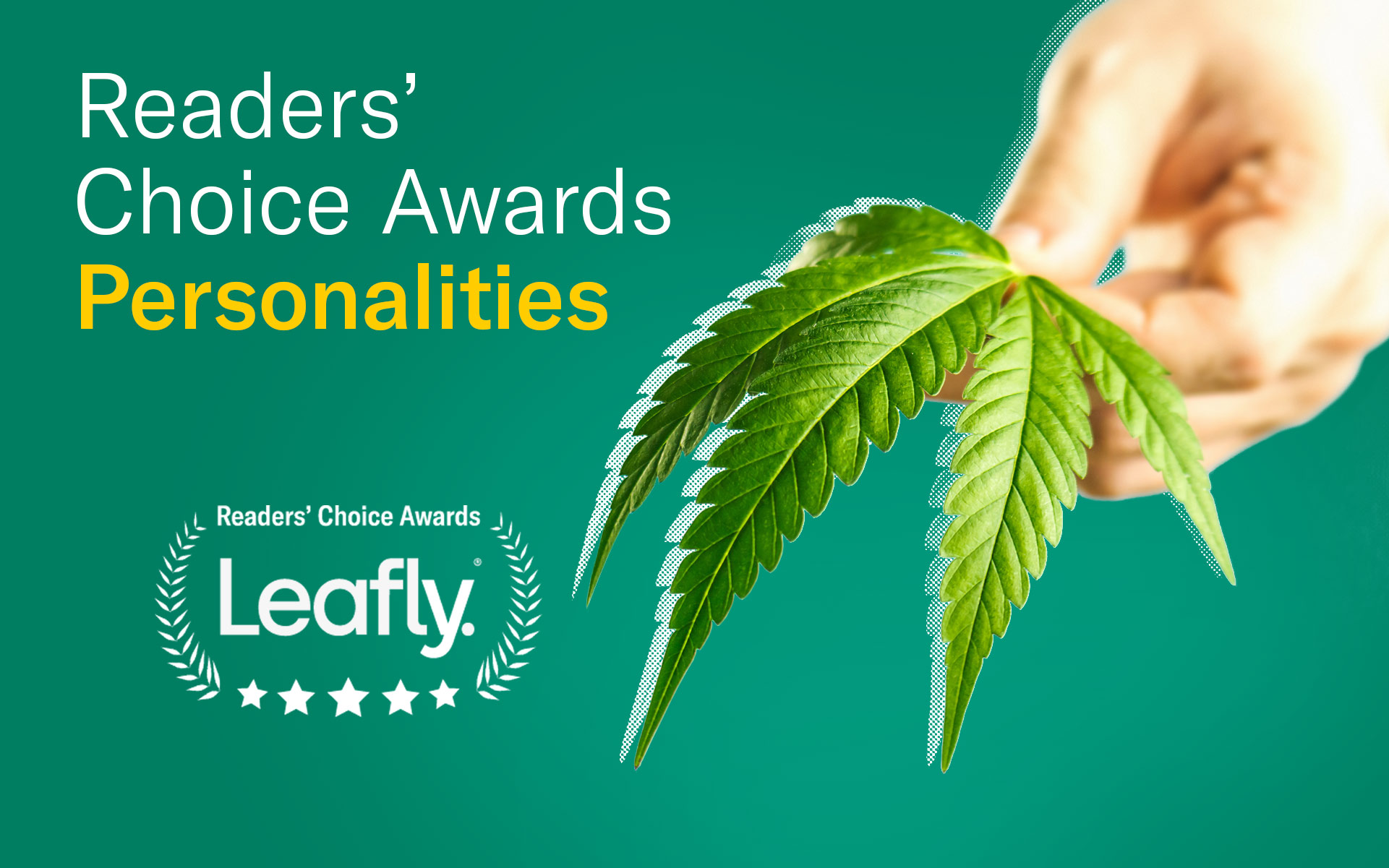 Leafly canada readers choice favourite cannabis personalities