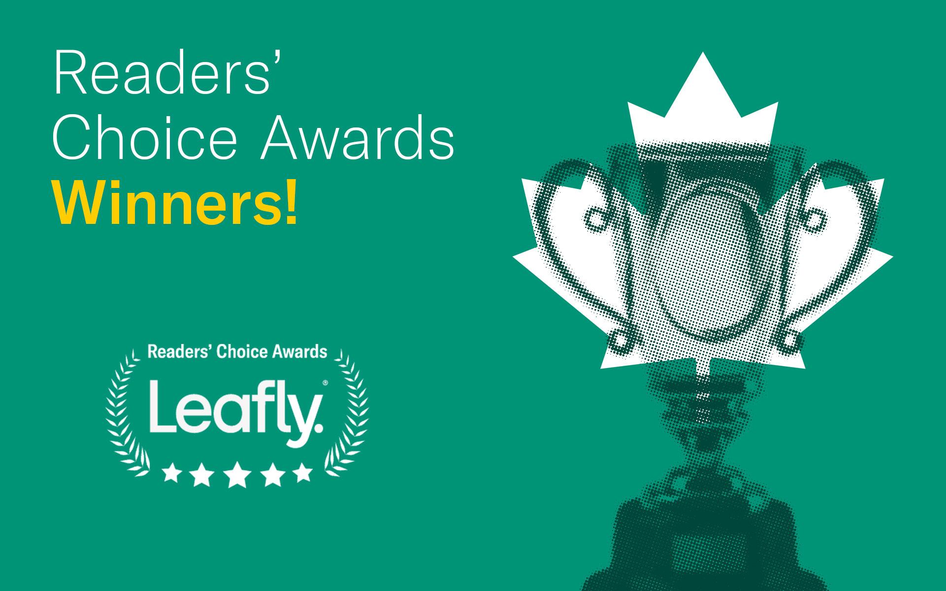 Leafly Canada Readers' Choice Awards