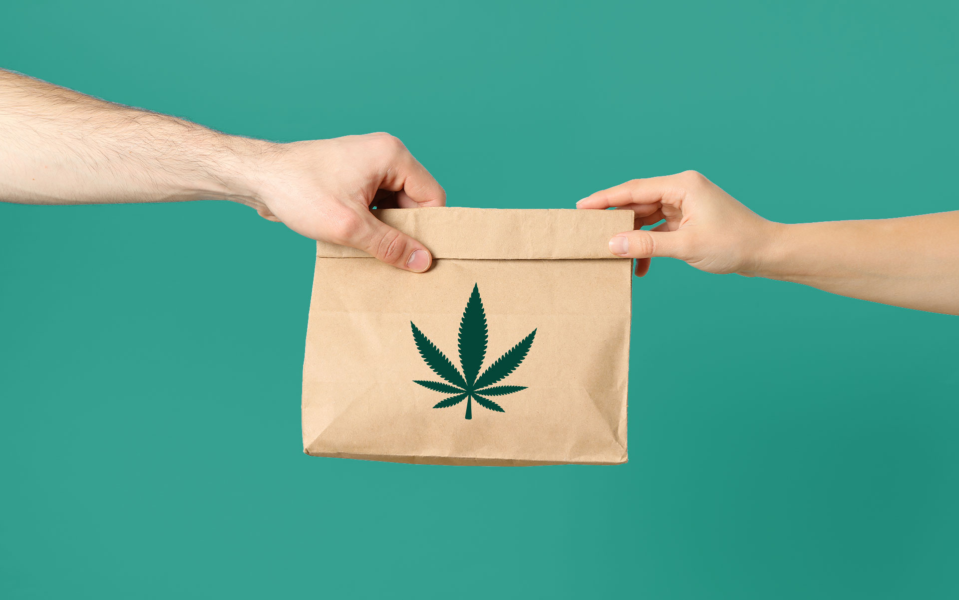 Physical distancing and cannabis delivery go great together. (Atlas/AdobeStock)