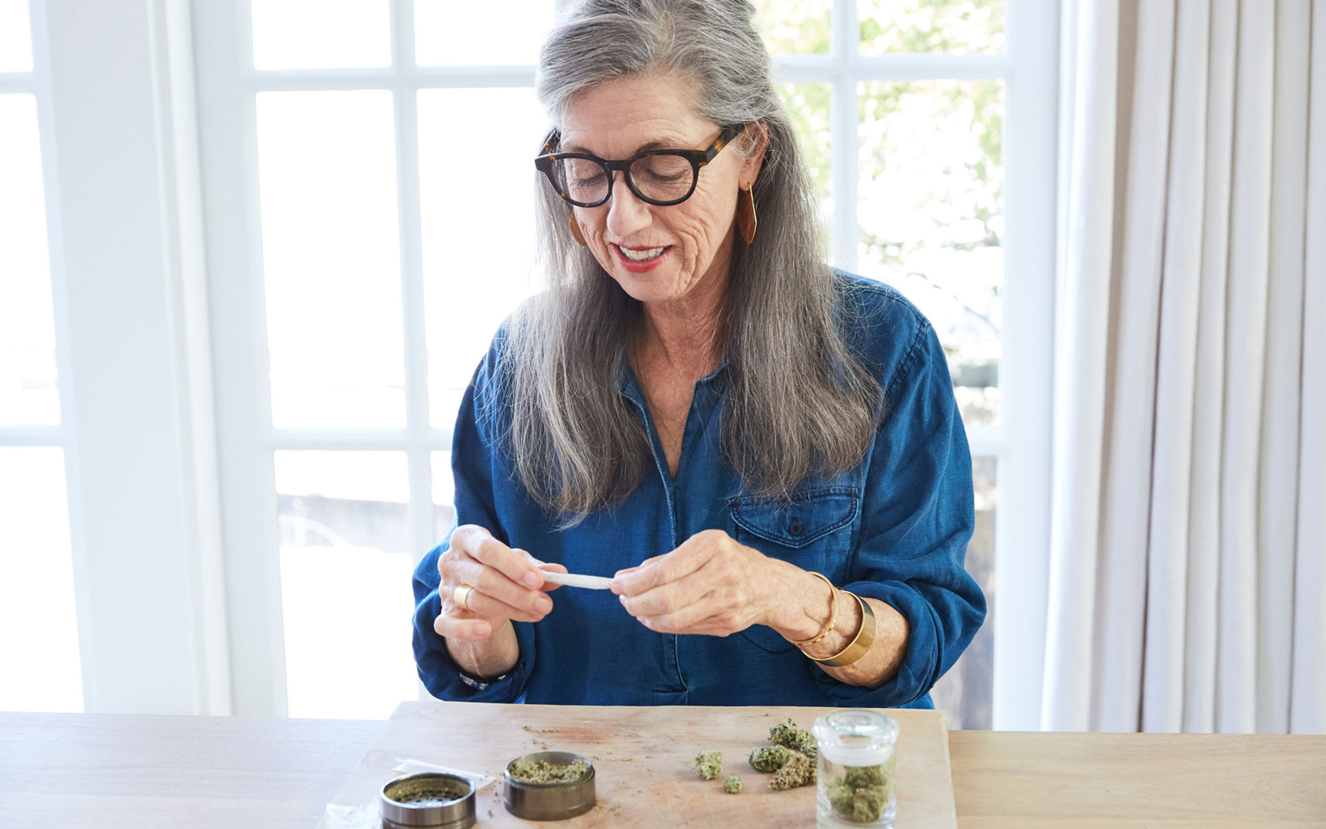 seniors enjoying cannabis, older adults consuming marijuana