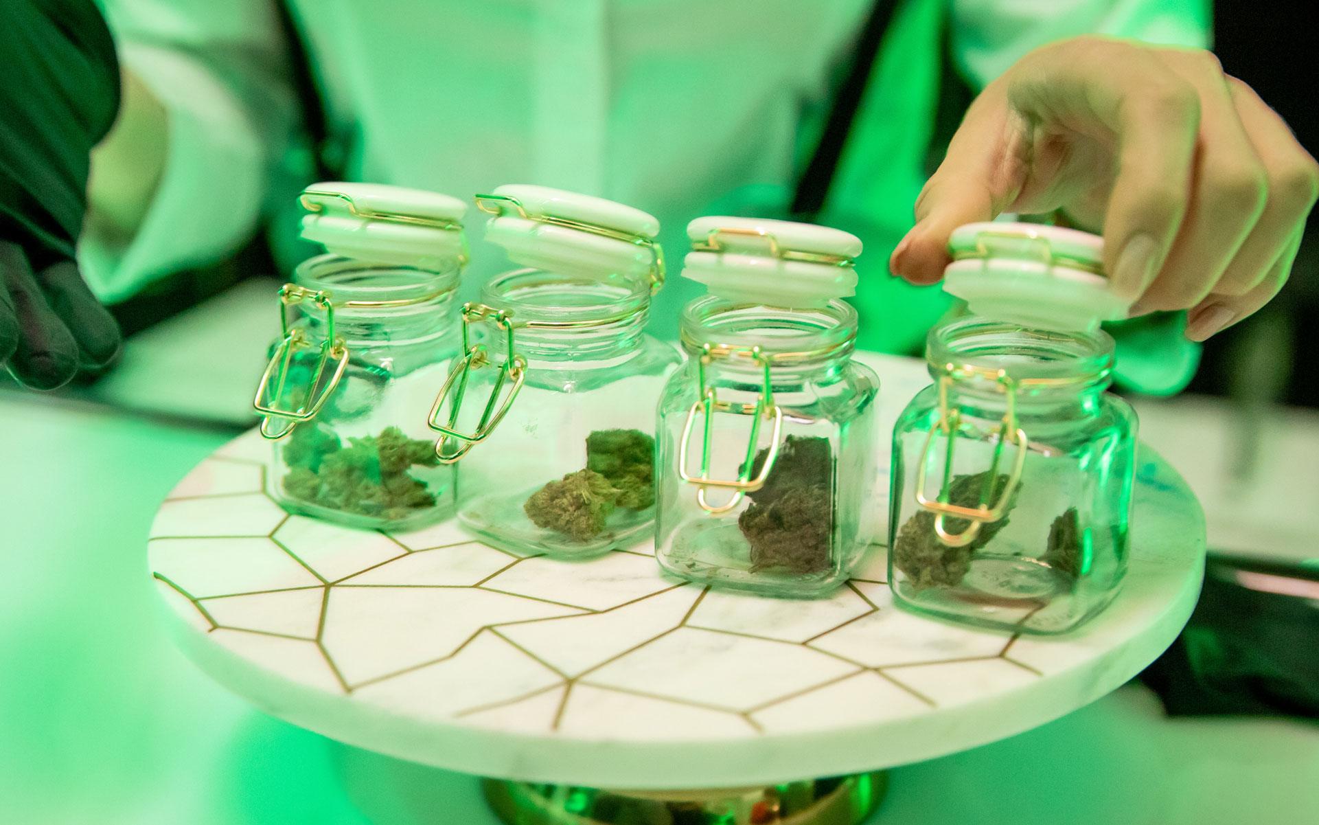 cannabis consumption space
