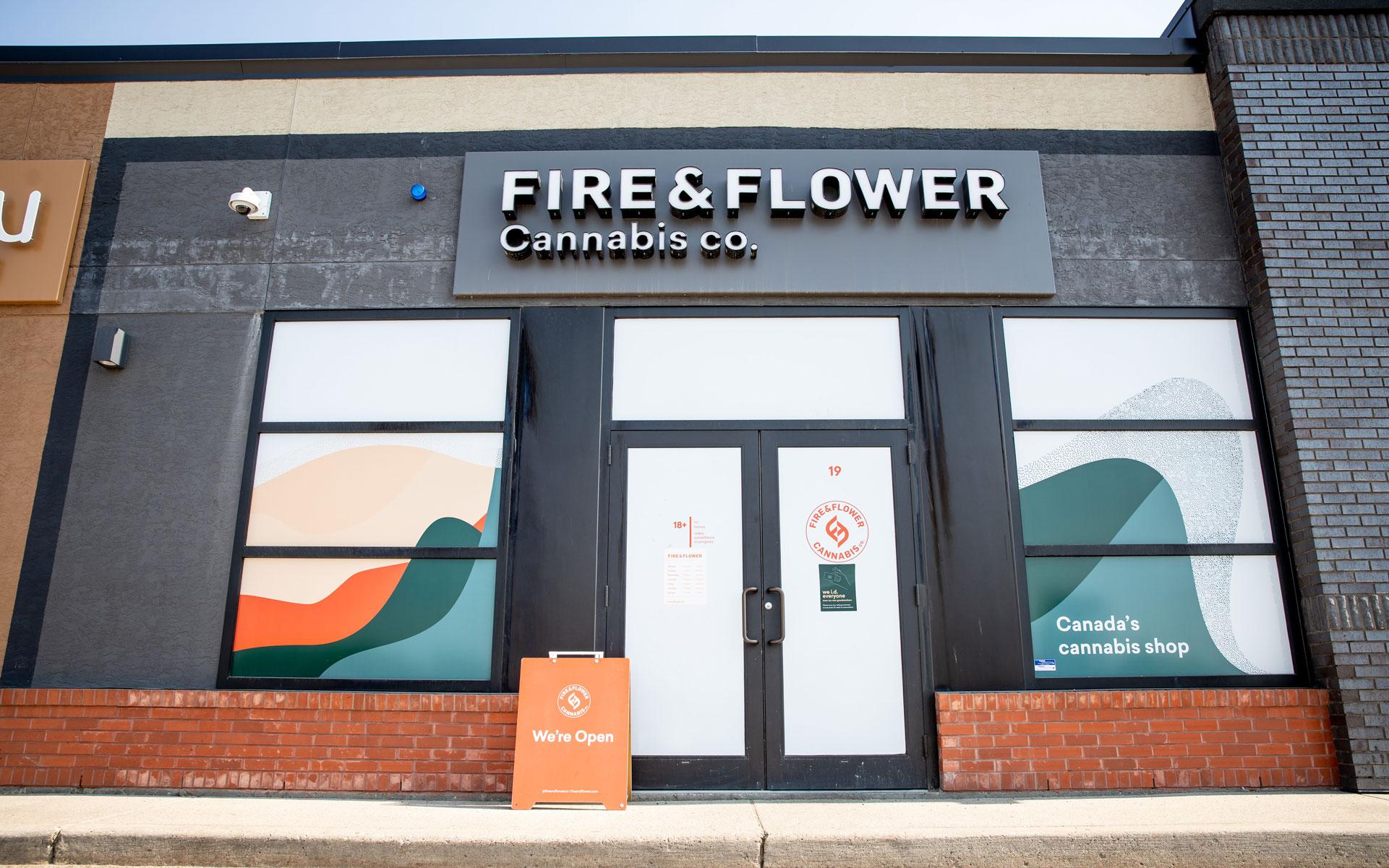 covered windows fire & flower