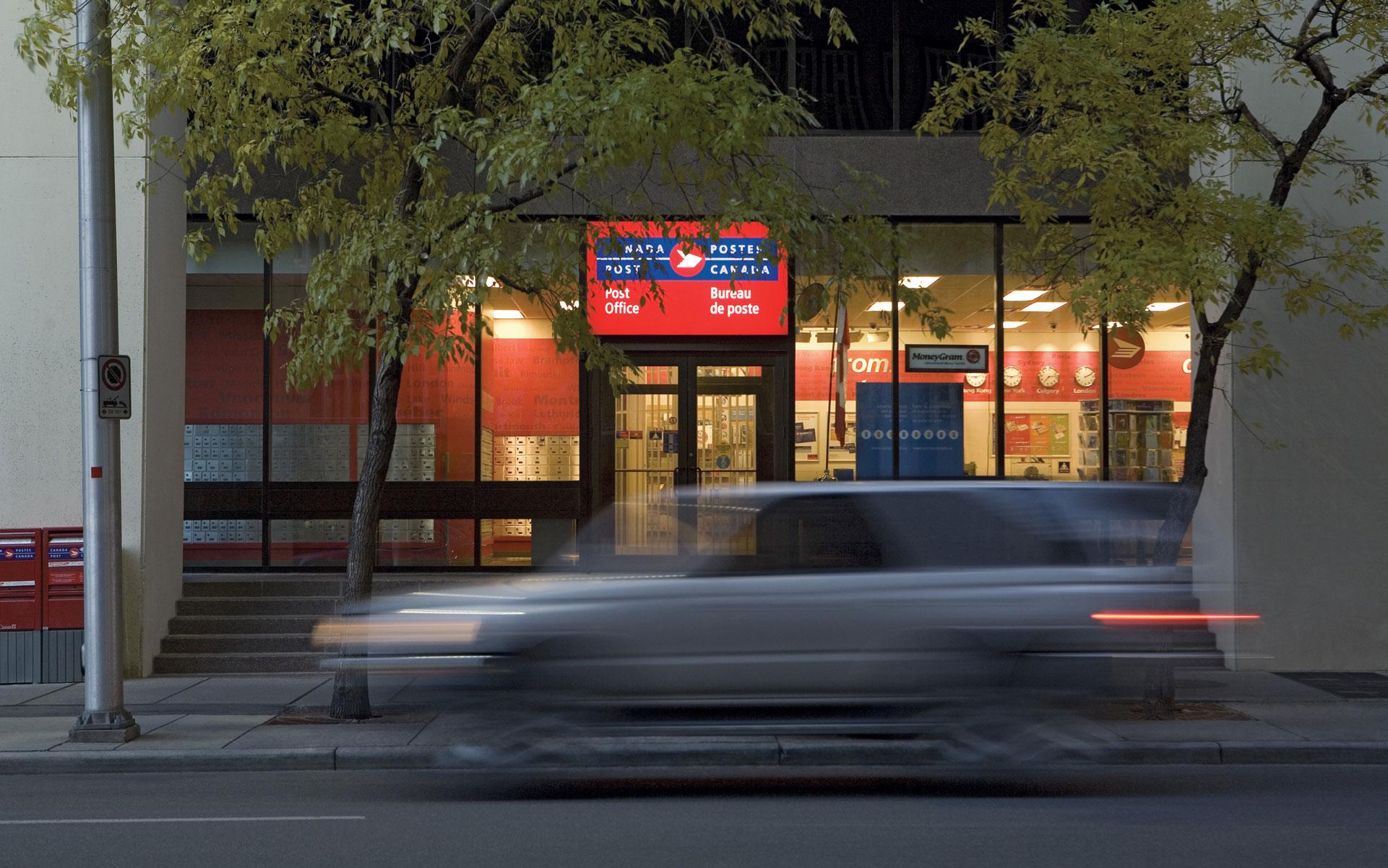 Canada post office; Canada Post marijuana delivery signature