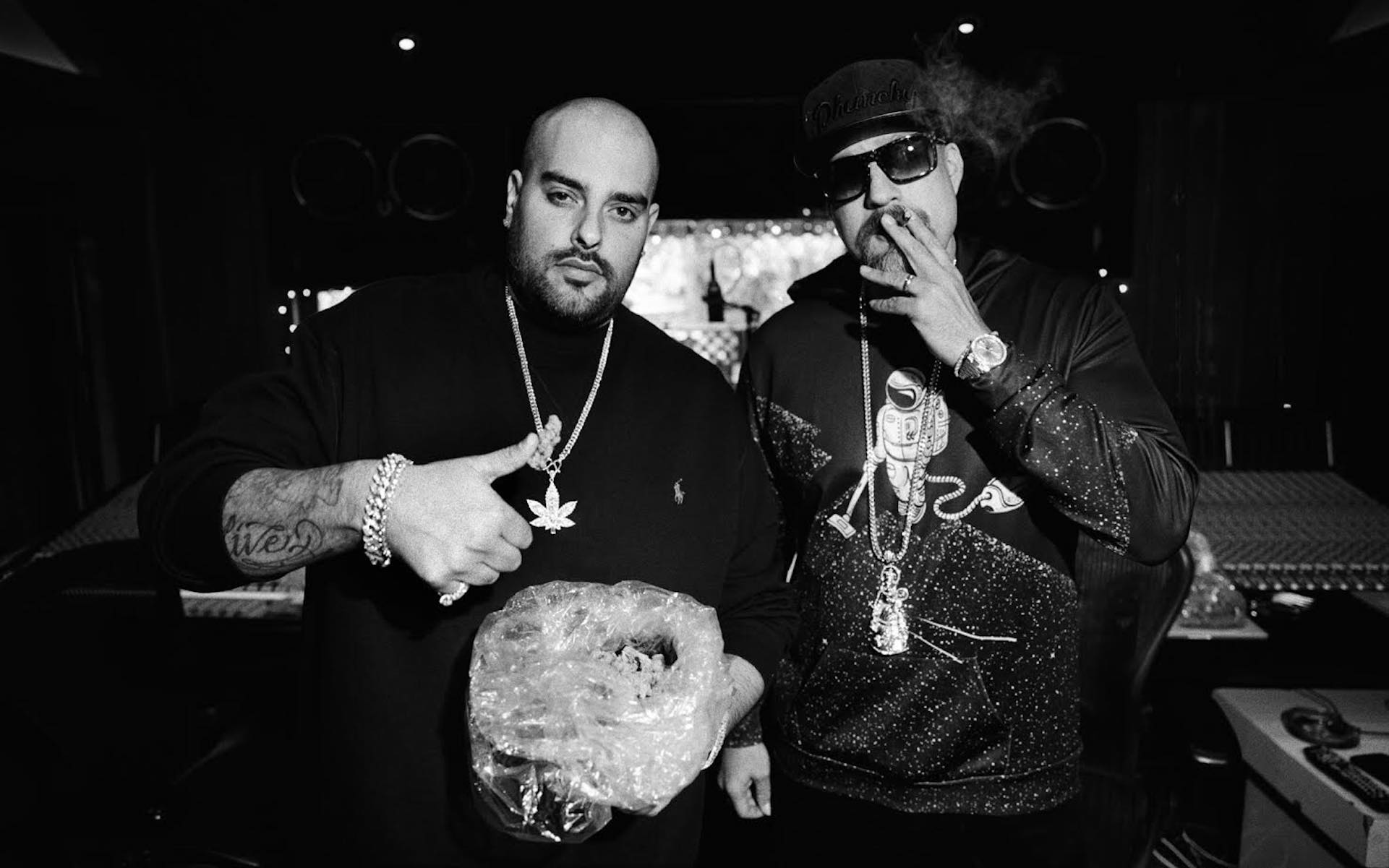 Berner and B-Real bring livestreams, new music, and stores deals to 4/20. (Courtesy B-Real)