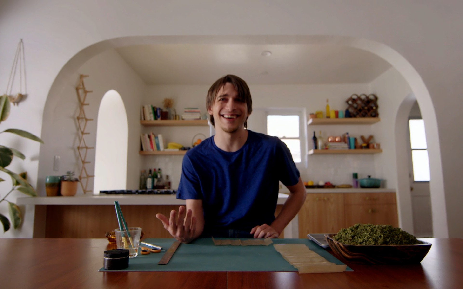 Joints become art with Let's Roll with Tony Greenhand. (Courtesy Let's Roll with Tony Greenhand)