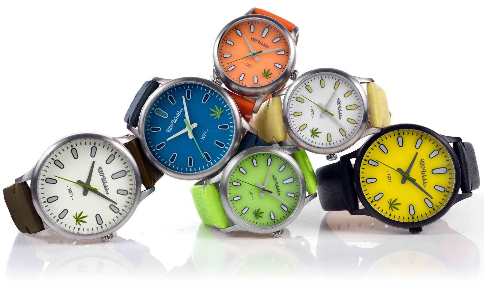 The 420 Waldos sell a $150 watch to benefit legalization. (Courtesy 420 Waldos)